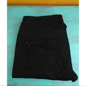 Forever 21 black pants, size 28 with zipper leg
